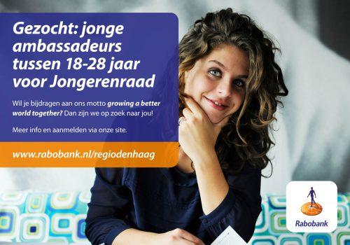 Oproep: Rabobank Regio Den Haag is op zoek naar jonge ambassadeurs