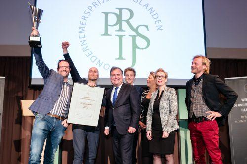 Finale OndernemersPrijs Haaglanden tijdens Den Haag Onderneemt!